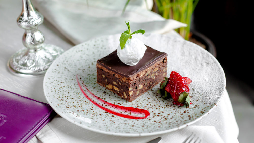 Torta russa al cioccolato